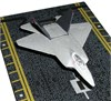 Hot Wings 14122 F-22 Raptor Gray Diecast Aircraft