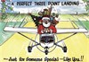 "Gift of Wings 215 Aviation Greeting Cards ""Three Point Landing Cards"" - 10 Pack"
