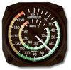 Trintec 9061 Air Speed Indicator Wall Thermometer