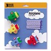 Bakery Crafts 021466709054 Airplane Birthday Cake Holders