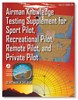 ASA FAA-CT-8080-2E Private & Recreational Pilot Test Supplement