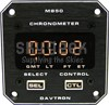Davtron 850-14V Gmt - Lt - Ft - Et - Led Clock - 14V Immumiating Buttons - Front Mount