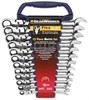 GearWrench 9901 12 Piece Metric Flex Head GearWrench Set 8mm-19mm - 8-19 mm