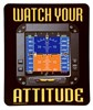 Trintec MP02 Watch Your Attitude Mouse Pad