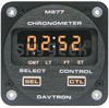 Davtron M877 28-Volt GMT, LT, FT, & ET LED Illuminating Button Rear Mount Chronometer