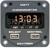 Davtron M877 28-Volt Gray Faceplate GMT, LT, FT, & ET LED Chronometer