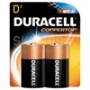 DURACELL� MN1300 Duralock� D-cell 1.5V Alkaline Button Top Battery - 2 Battery/Retail Card